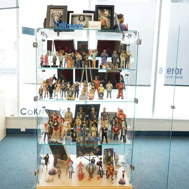 One of our displays at the shop Can you recognizehellip