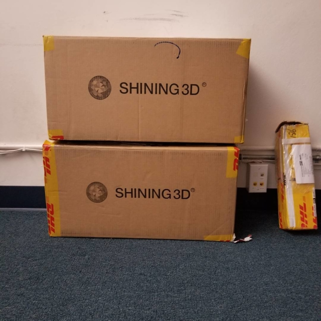 Got some goodies is from shining3d to play with Stayhellip