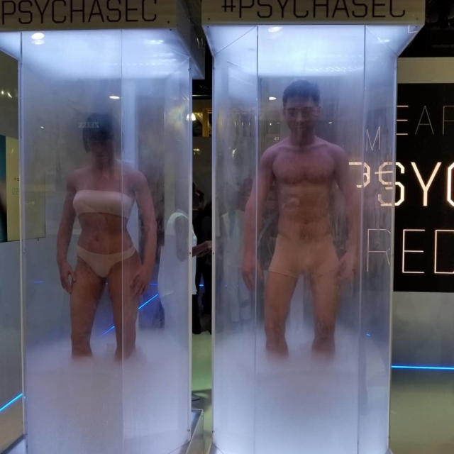 One of the weirdest booth at CES that we camehellip
